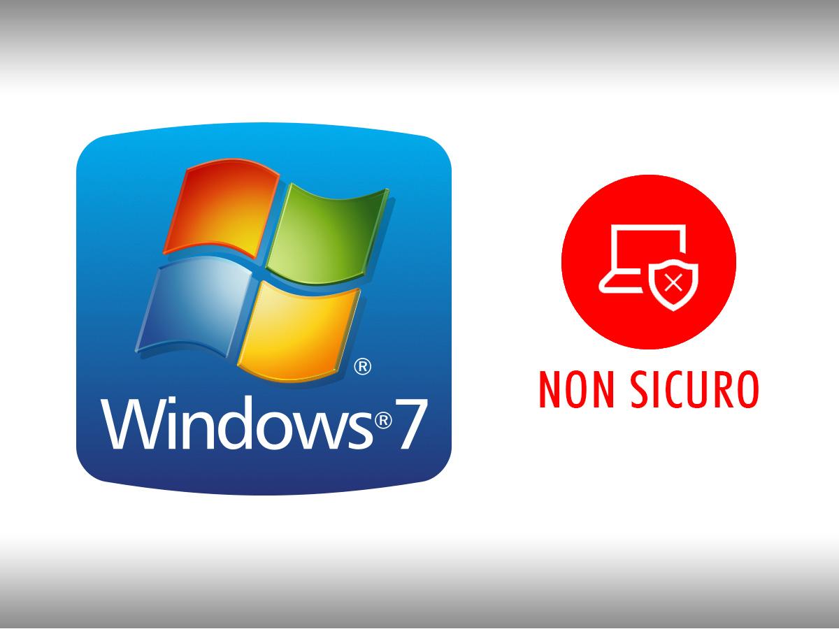 Windows 7 è scaduto